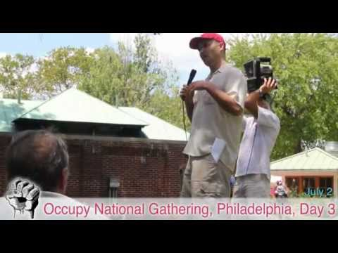 Matt Taibbi Breaks Down LIBOR Scandal (Speech + Q&A) - Occupy National Gathering Day 3