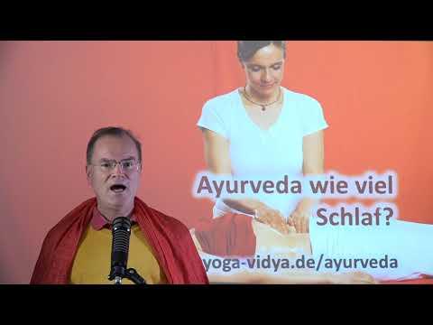 Ayurveda - wie viel Schlaf? - Frage an Sukadev