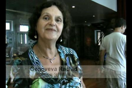 Entrevista com a Sra. Genoveva Rachid - Professora de História