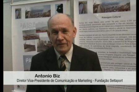 Antônio Biz - Diretor de Comunicação e Marketing - Fundação Settaport