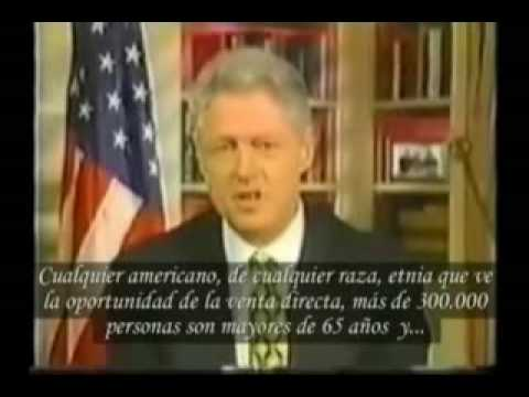 Marketing de Redes, el futuro de la comercialización mundial, según Bill Clinton