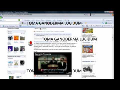 TOMA GANODERMA LUCIDUM EN FACEBOOK