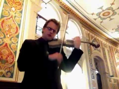 Amazing 3D Printed 'Stradivarius' Violin - demo by Simon Hewitt Jones