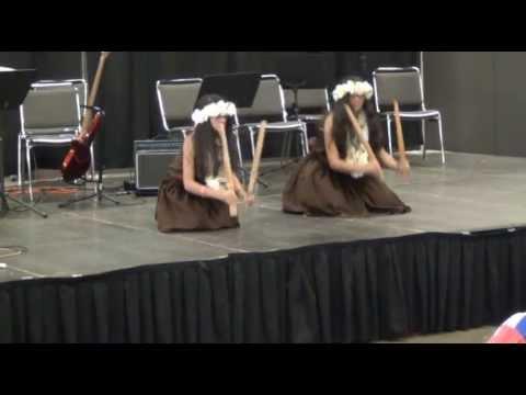 pu'i ili routine _Hawiian ryhtmn instrument