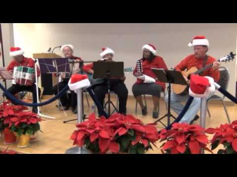 MECCA Senior Band playing a Christmas program in Killeen, Texas