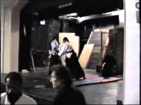 GM Aaron  Banks live  martial arts Christmas show 1993 GM Irving Soto