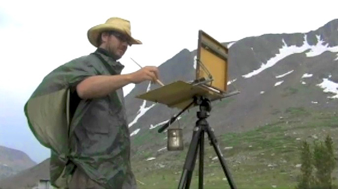 Real Men - Painting Plein Air