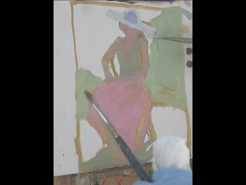 Peggi Kroll-Roberts High Key Painting Demo