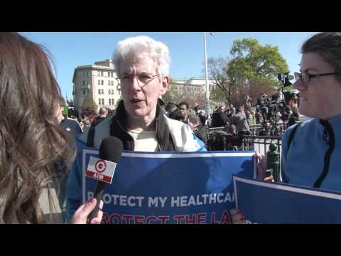 Astro-Turf Protesters Argue the Constitutionality of Obamacare