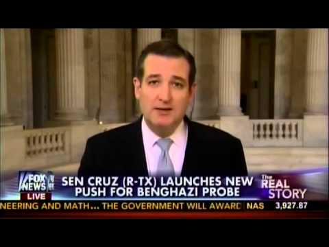 Sen. Ted Cruz on Investigating Benghazi and Stopping Obamacare