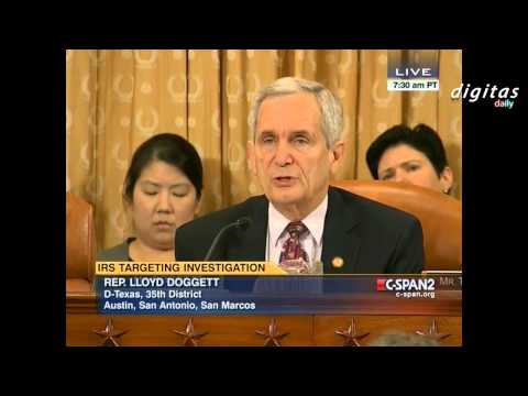 """Rep. Doggett (D-TX): IRS scandal is """"not a serious investigation."""""""