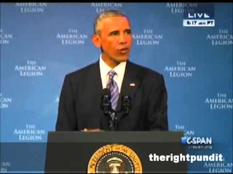 Weak Applause - Obama American Legion