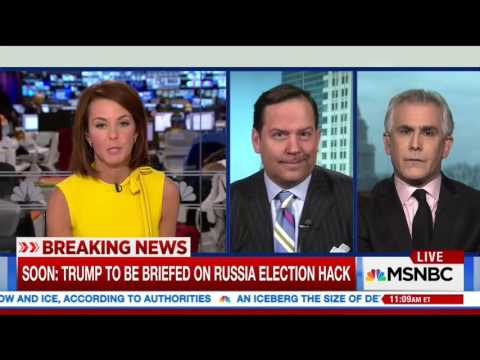 MSNBC Host Snaps at Member of Trump Team For 'Generalizing' Media