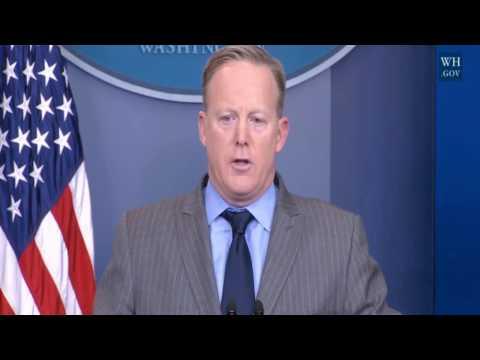 Press Secretary Sean Spicer Slams Media for 'Deliberate False Reporting' 1/21/2017
