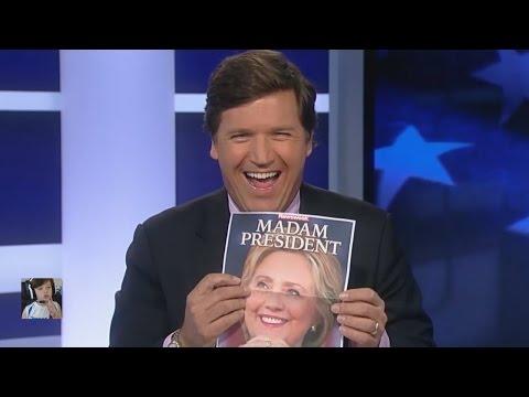 Tucker Embarrass Newsweek Editor On MADAM PRESIDENT