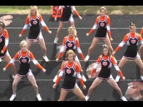 2008 Gator Cheerleading Dance Routine