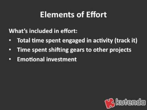 Social Media Marketing Tip: Focus on Your Return on Effort