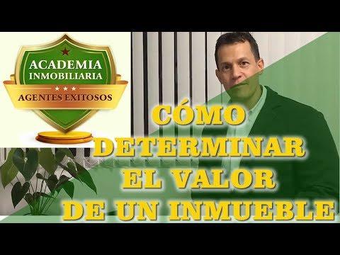 CÓMO DETERMINAR EL VALOR DE UN INMUEBLE ( ACADEMIA INMOBILIARIA )