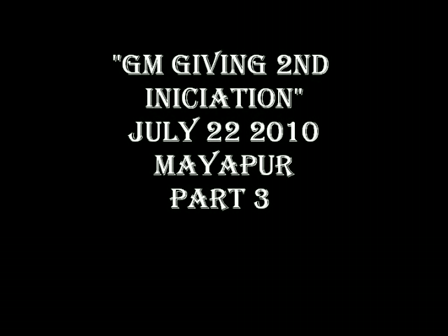 GM GIVING 2ND INICIATION- PART 3