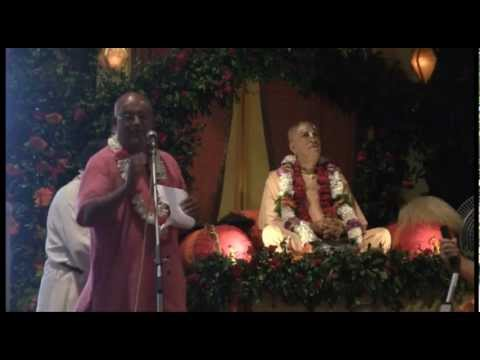 Vyasa Puja - Glorification  - HG Nareshwar Prabhu