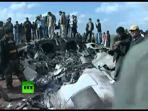 F-15 fighter jet crashed in Libya