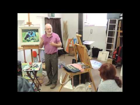 """Paul maloney workshop at """"The Swallows nest Studio"""", 1/12/12"""