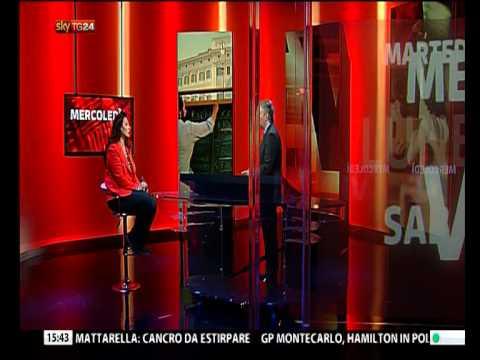 SEVEN - Sky TG24 23/5/2015 - Licia Cianfriglia