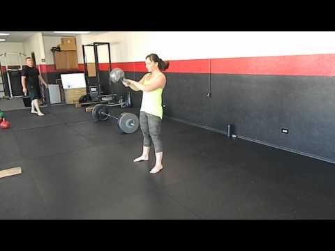 Basic 2-Arm Swings. Idaho Kettlebell Strength and Conditioning