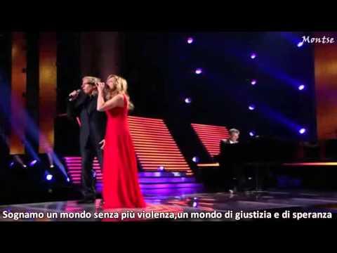 Lara Fabian ft Michael Bolton-The prayer  with lyrics