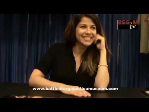 "Luciana Carro on ""BSG"", ""Falling Skies"", ""Stray"" & ""The MotherF**ker With The Hat"", BSG-M exclusive!"