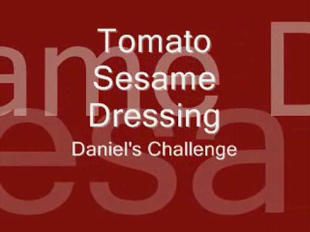 Tomato Sesame Dressing