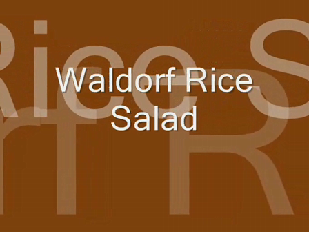 Waldorf Rice Salad