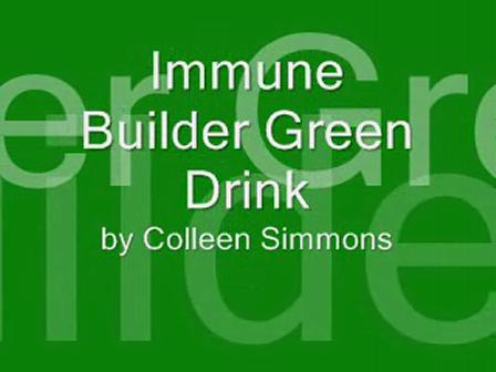 Immune Builder Green Drink