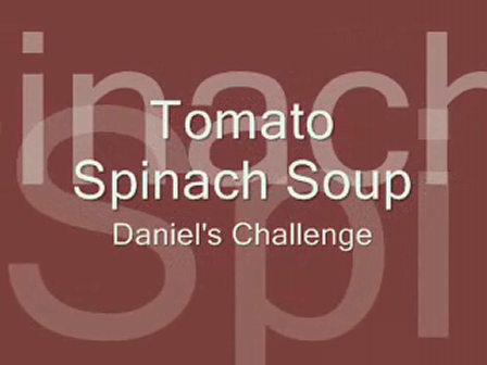 Tomato Spinach Soup