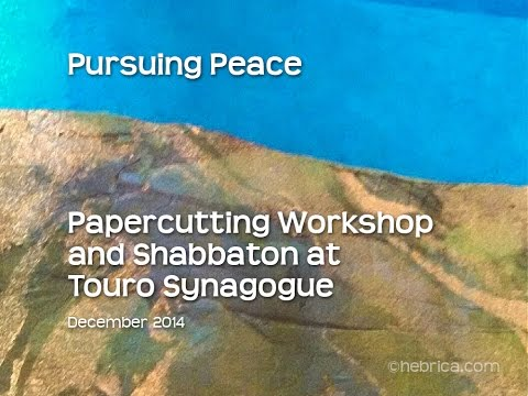 Touro Synagogue Pursuing Peace Papercut Art Workshop
