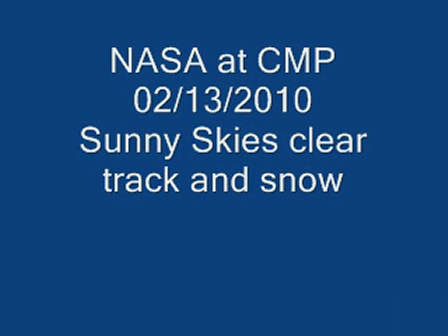 NASA at CMP Clear and clean track