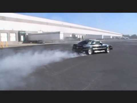 Unstabled Mates Mustang Club Making BurnOuts