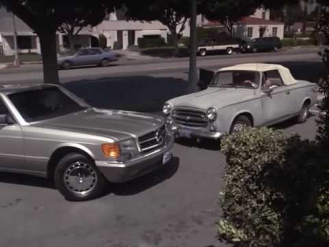 Fender Bender between George Hamilton and Columbo ('91)