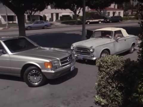 Fender Bender between George Hamilton and Columbo ('91)