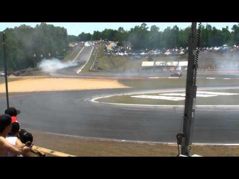 Formula Drift  Atlanta 2011 Saturday practice cam 1 1/5