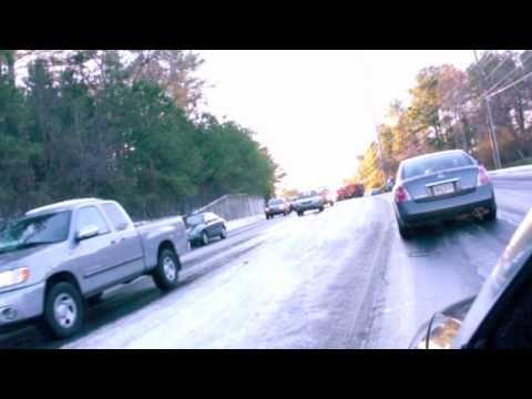 Georgia's Icy Roads