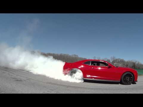 Camaro ZL1 Doing An Even Better Burnout