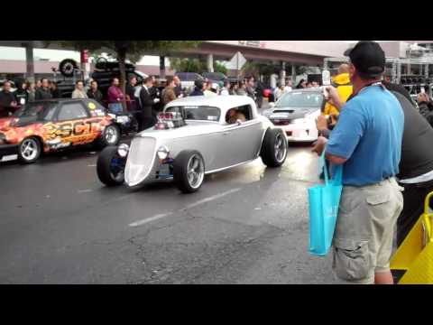 2011 Las Vegas SEMA Show Cruise Roll Out