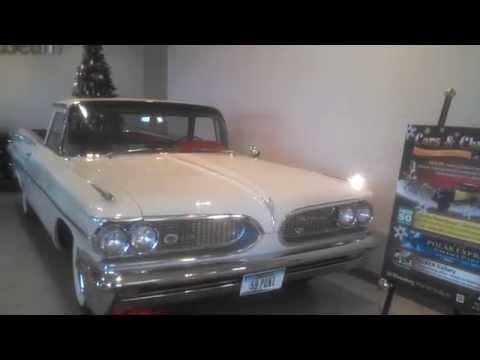 1959 Pontiac Catalina El Camino prototype walk about