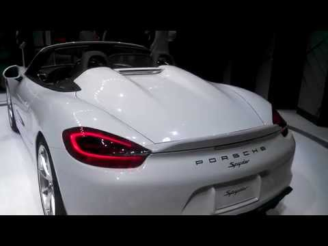 Walk about the new Porsche Boxster at the 2015 New York International Auto Show