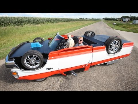 "Clever Mechanic Constructs Drivable ""Upside Down Truck"""