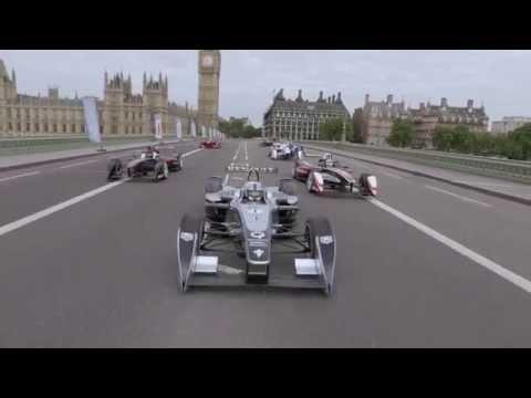 Formula E hits London -Global Wheels Events
