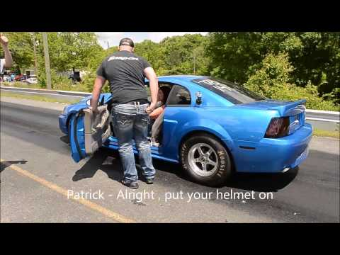 Drag Strip Marriage Proposal
