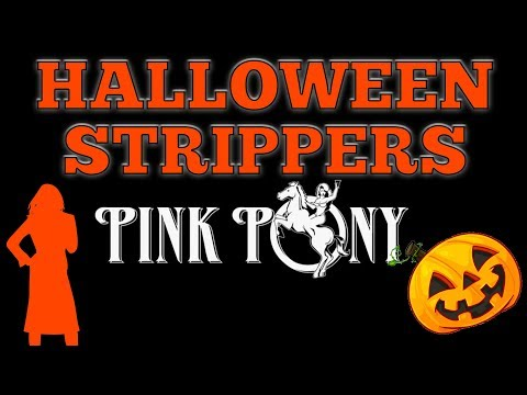 Halloween Strippers At The Pink Pony
