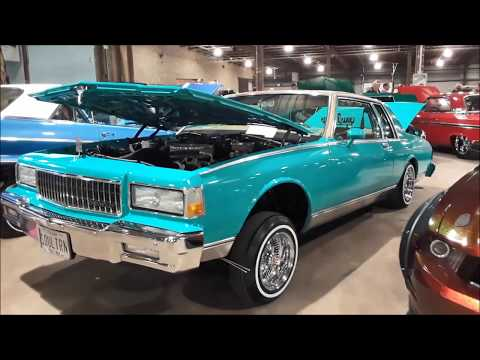 Urban Legends Car Club Low Riders At the 2018 East Coast Indoor Nats
